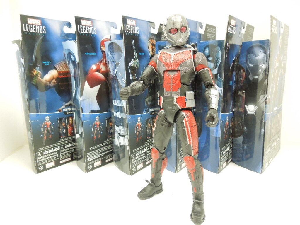 Marvel Legends Captain America Civil War Series Build A Figure Ant Man Giant Man