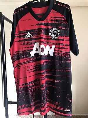 Adidas Manchester United Pre Match Jersey 20/21 (Size M) | eBay