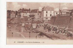Parame-La-Cale-de-Rochebonne-Vintage-LL-Postcard-France-280a