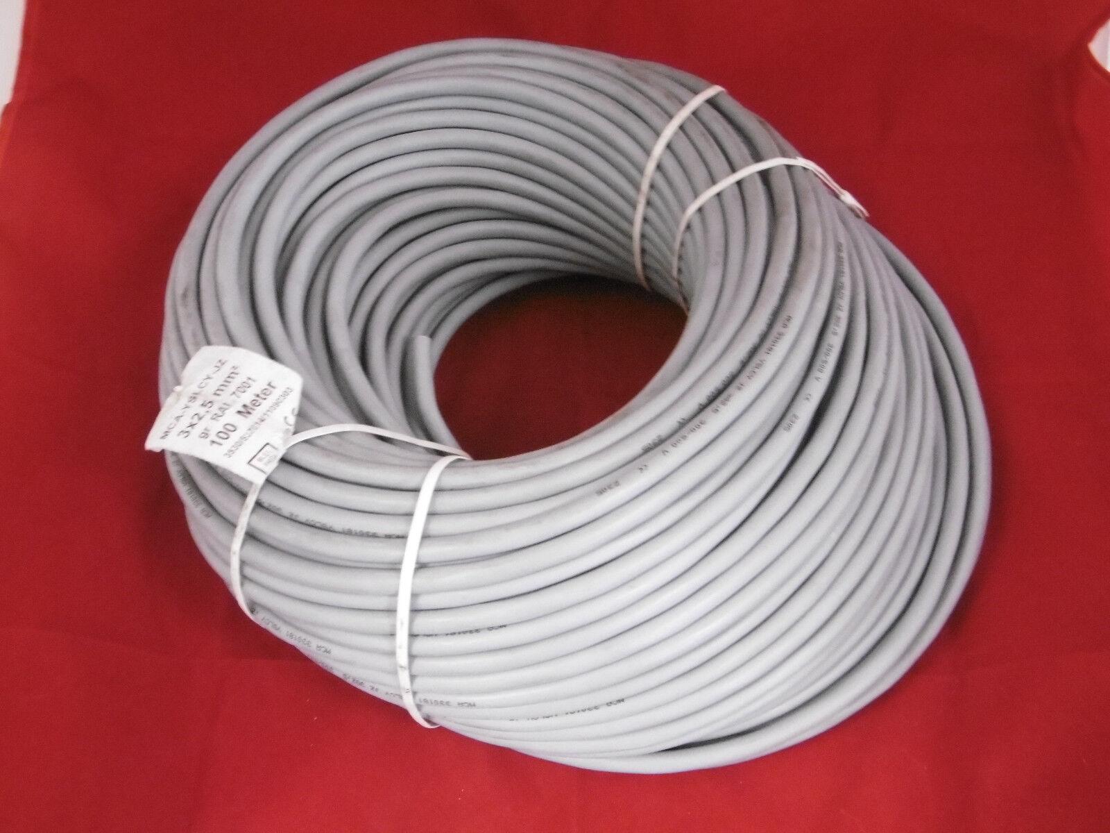 Stromkabel ca.55 Meter 3x2,5 qmm MCA-YSLCY-JZ NEU