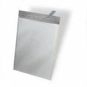 Yens® 1000 #M5 WHITE POLY MAILERS ENVELOPES Self Sealing BAGS 12 x 15.5  1000M5