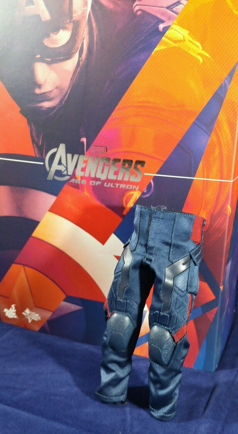 Genuine Hot Toys 1/6 Scale MMS281 Avengers Captain America AOU pants only USA