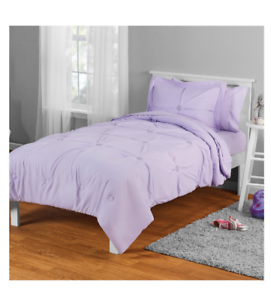 New Lilac Twin Size Comforter Set Girl's Bedding Kid's ...