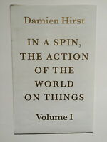 DAMIEN HIRST, folded brochure / poster, Paragon Press, Booth Clibborn, 2002