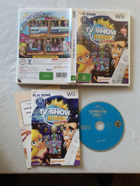TV Show King Party Nintendo Wii