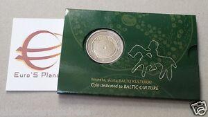 coin-card-2-euro-2016-LITUANIA-Baltic-Lituanie-Litauen-Lietuva-Lithuania