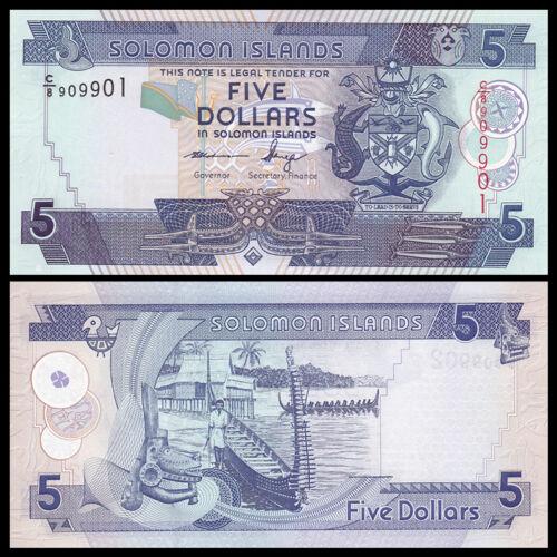 Salomonen // Solomon Islands 5 Dollars ND 2012 UNC P-26 NEW