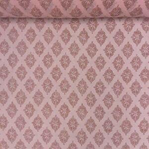 Large floral sun dress fabric 100/% cotton Swiss production 140cm wide