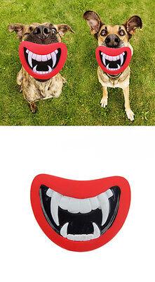 Pet Toy Vinyl Devil's Red Lip Squeak Sound Dog Toys Dog Chewing 2015 SU UB