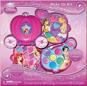 Disney Kids Toys Princess Pink Girls Makeup Vanity Cosmetic Play