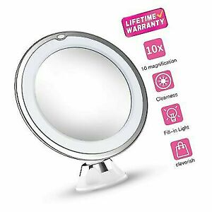 10x Magnifying Makeup Mirror.Vimdiff 10x Magnifying Makeup Vanity Mirror With Lights Updated 2019 Version
