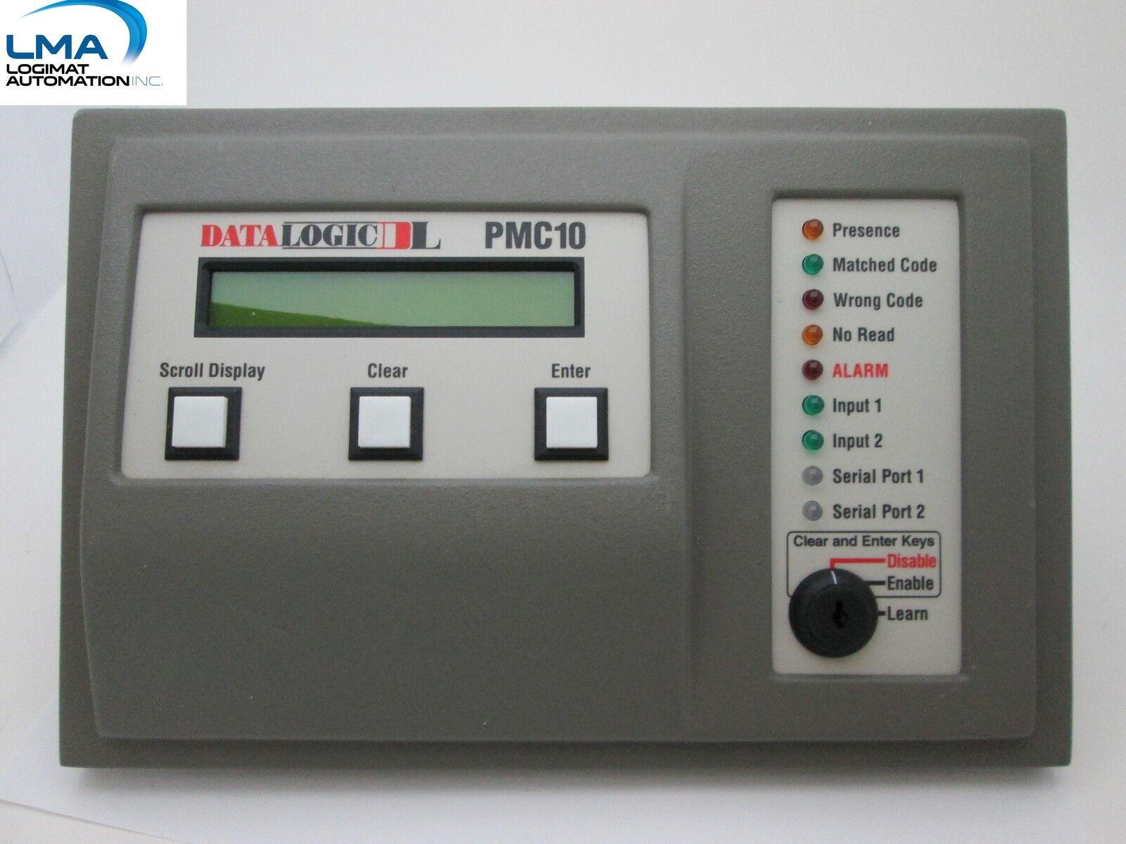 DATA LOGIC PMC10 DATA CONTROL ASSEMBLY INPUT