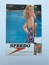 Speedo Swimwear Vintage Brochure 1976 A4 Size
