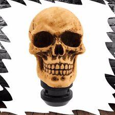 Universal Gothic Skull Head Shift Knob For Manual Transmission Stick Shift Car