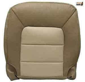 2004 2005 ford expedition eddie bauer driver bottom leather seat cover tan ebay. Black Bedroom Furniture Sets. Home Design Ideas