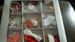 Craft set red and white new boxed - <span itemprop=availableAtOrFrom>King&#039;s Lynn, United Kingdom</span> - Craft set red and white new boxed - King&#039;s Lynn, United Kingdom