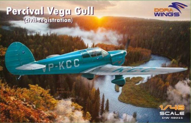 Dora Wings 1 48 Percival Vega Gull (Civil Registration)