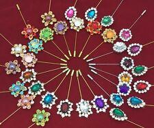 Wholesale Joblot HIJAB, SCARF, ABAYA HAT PINS BROOCH Pin Set Of 12pc Just £4.99