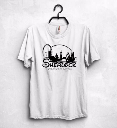 Sherlock T Shirt Holmes I Am Sherlocked Welcome To London UK England London