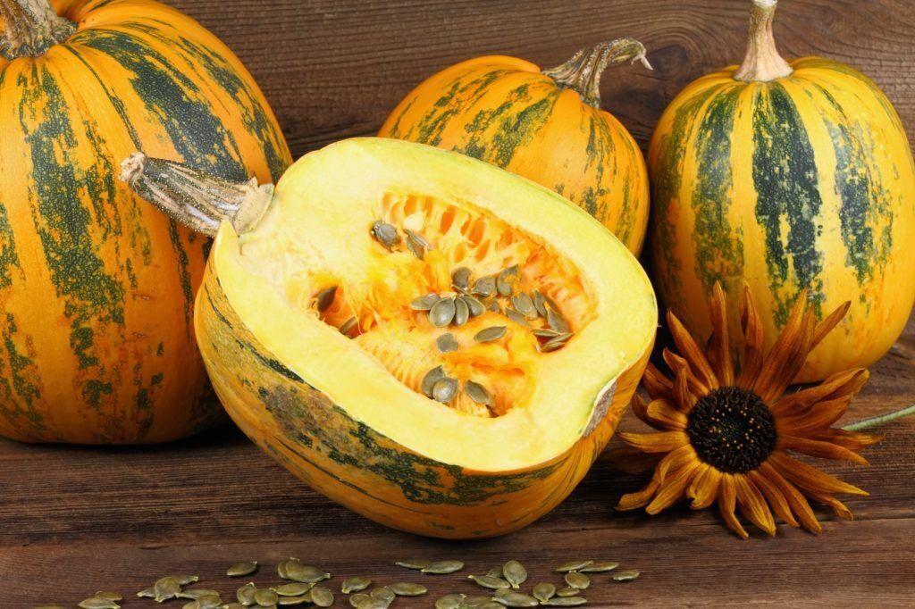 Seeds Pumpkin Striped Vitamin Giant Vegetable Planting Organic Heirloom Ukraine