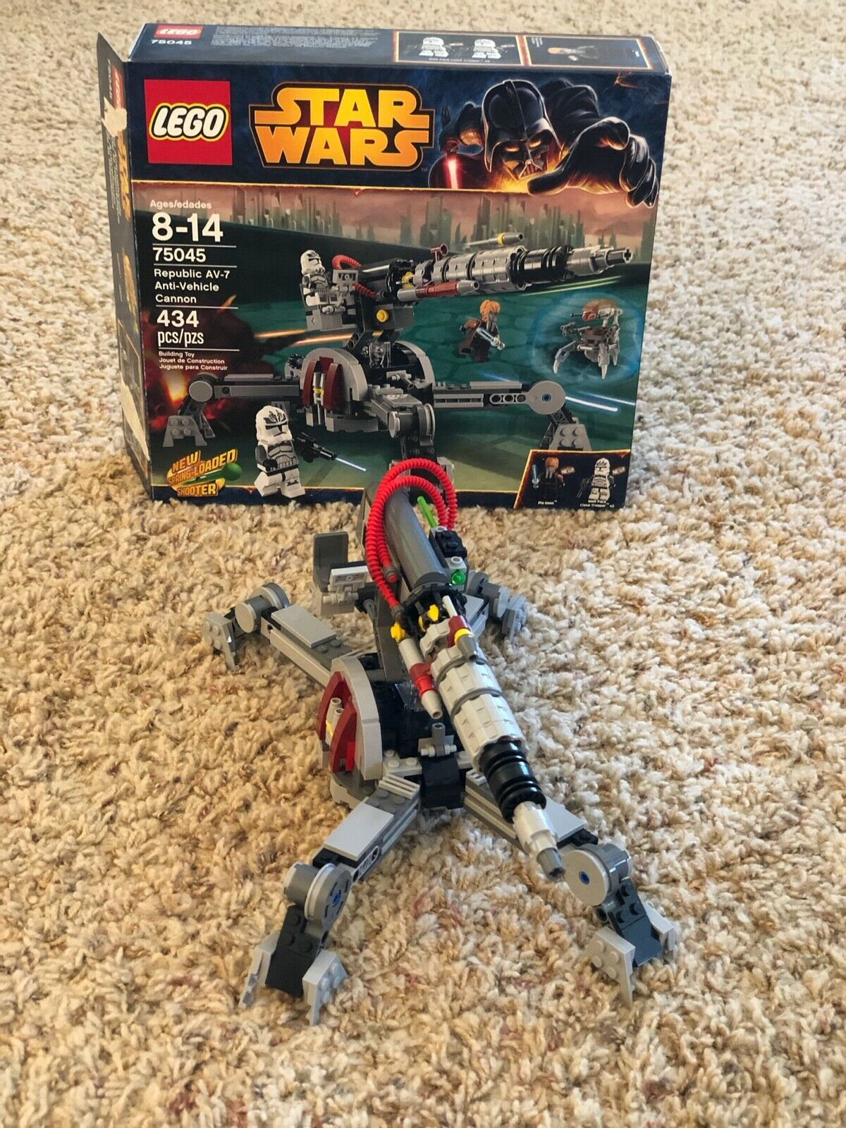 Wolfpack Clone Trooper  ! AV-7 Anti-Vehicle Cannon™  Star  Wars™ Set 75045