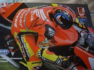 Karl Harris signed Shoei helmets poster BSB Honda racing team - Lincoln, United Kingdom - Karl Harris signed Shoei helmets poster BSB Honda racing team - Lincoln, United Kingdom