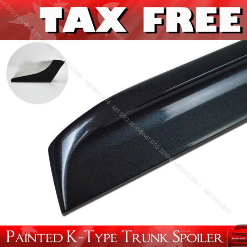 Painted K-Type For 2004-2008 Acura TSX Rear Trunk Lip Spoiler PUF §