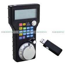 Wireless USB Mach3 Elettronico Handwheel MPG Ciondolo Per CNC 3/4 Assi Incisione