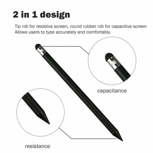 Multi-Color Universal Capacitive Pen Touch Screen Stylus For iPad Android Tablet