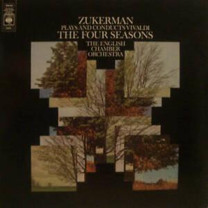 Antonio Vivaldi , Pinchas Zukerman , English Chamber Orchestra - The Four Season