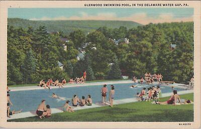 PA, Erie, Pennsylvania, Glenwood Park, Swimming Pool, 1911