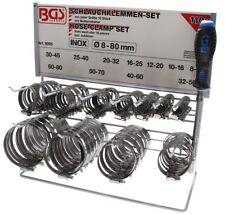 BGS Schlauchschelle Schlauchklemme 10er Pack Durchmesser 30-45 mm INOX rostfrei