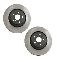Lexus Nx300h 07-16 Set Of 2 Vented Front Disc Brake Rotors Opparts 405 51 050