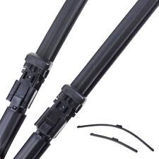 """For FORD FIESTA MK7 2008 09 10 11 12 13-16 Frameless Rubber Wiper Blade 26""""+15"""""""