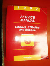 1997 DODGE STRATUS CHRYSLER CIRRUS PLYMOUTH BREEZE FACTORY SERVICE MANUAL