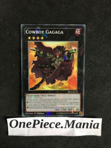 Yugioh Cowboy Gagaga BP03-FR123 STARFOIL 1st