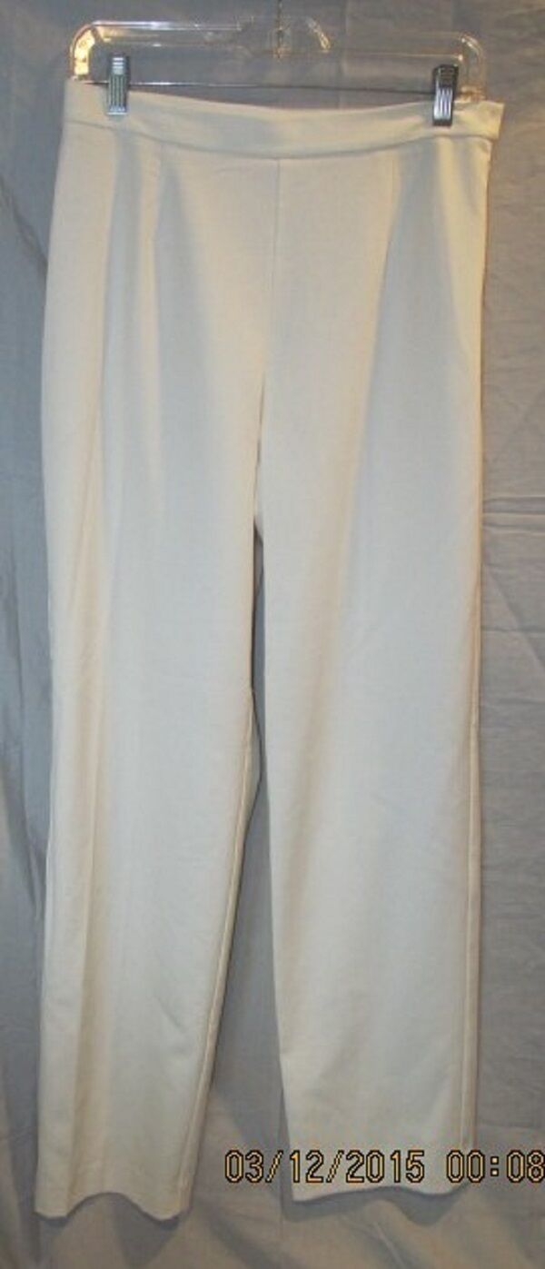 GORGEOUS IVORY LINED ALL SEASON DRESS PANTS FROM NORDSTROM SZ 8 NWOTS