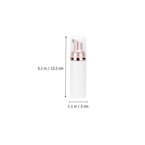 6x Empty Plastic Foamer Hand Soap Dispenser Makeup Foam Pump Bottles Containers