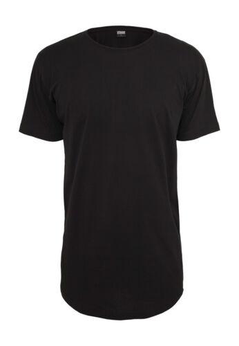 Urban Classics Hommes shaped long shirt tb638 Black