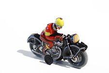 Blechspielzeug MOTORRAD schwarz °° Tin Toy °° Jouet en Tôle °° Made in Germany