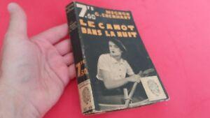 Mignon-G-Eberhart-Le-canot-dans-la-nuit-Collection-L-039-empreinte-n-157-1939