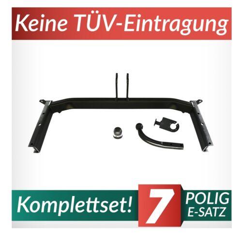 Anhängerkupplung starr+E-Satz 7p Für Audi A4 B5 Avant 95-01 auch Quattro Kpl