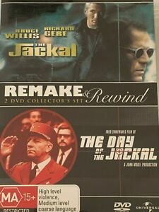 The-Jackal-The-Day-Of-The-Jackal-DVD-Like-New