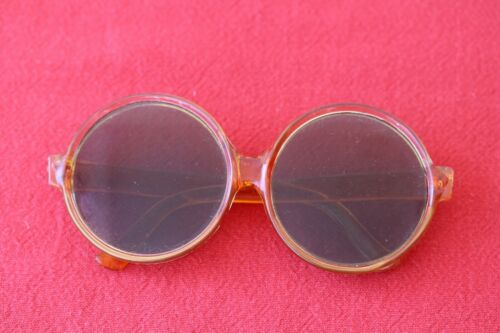 Vintage Old Antique 40's Round  Sunglasses Sun Gog