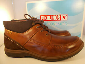 9b9490ea26b07 Pikolinos Toledo 03N-8165 Brown Leather Men's Shoes Size 11.5-12 New ...