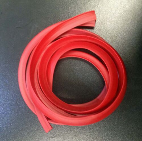 pair Side panel trim rubber red for Vespa PX /& LML Star