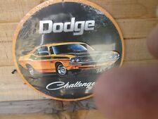 New Listingdodge Challenger Ta Ta Metal Display Plymouth Petty Mopar Rt Ta Se 70 71 73 Fits 1973 Barracuda