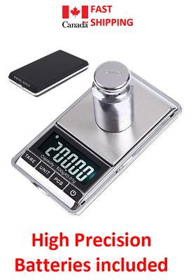 Digital Pocket Mini Scale LCD Display Jewelry Gold Silver Coin Grain Gram Herb