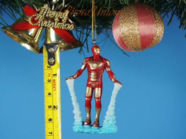 Decoration Xmas Tree Ornament Decor Marvel Avengers Iron Man vs Ultron K1386 XY