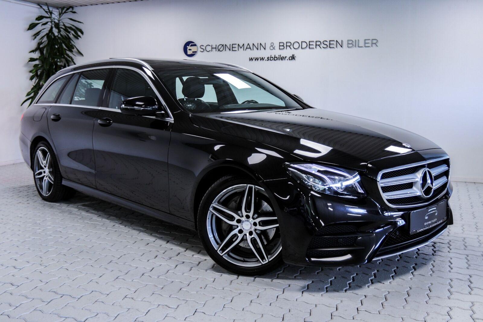 Mercedes E220 d 2,0 AMG Line stc. aut. 5d - 449.900 kr.